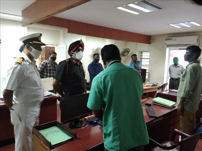 ADG's visit to NCC Group HQ Ernakulam